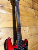 Vintage Epiphone ET-280 1970s Cherry Red 4 String Bass Guitar Japan Made w/ Bag
