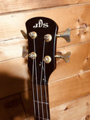 JDS 4 String Bass Guitar with New Padded Gig Bag