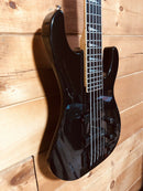 Jackson Professional Concert V 5 String Bass Guitar 1990s Black w/ Hard Case