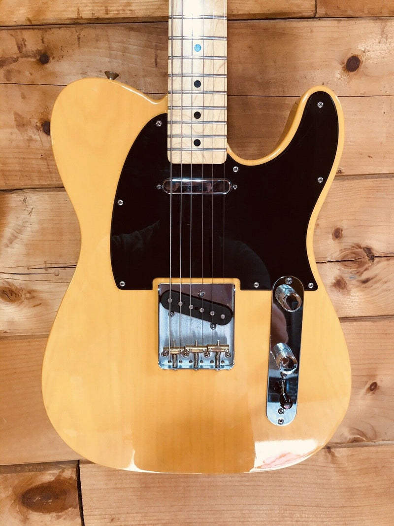 Fender Special Edition Deluxe Ash Telecaster Electric Guitar w/ Tweed Hard Case