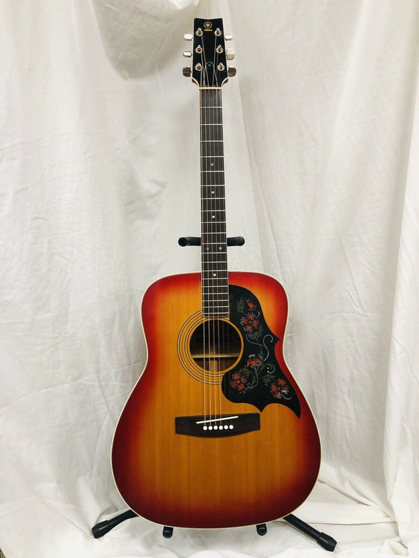 Vintage Yamaha FG-295S-1 Sunburst Acoustic Electric Guitar w/ Case