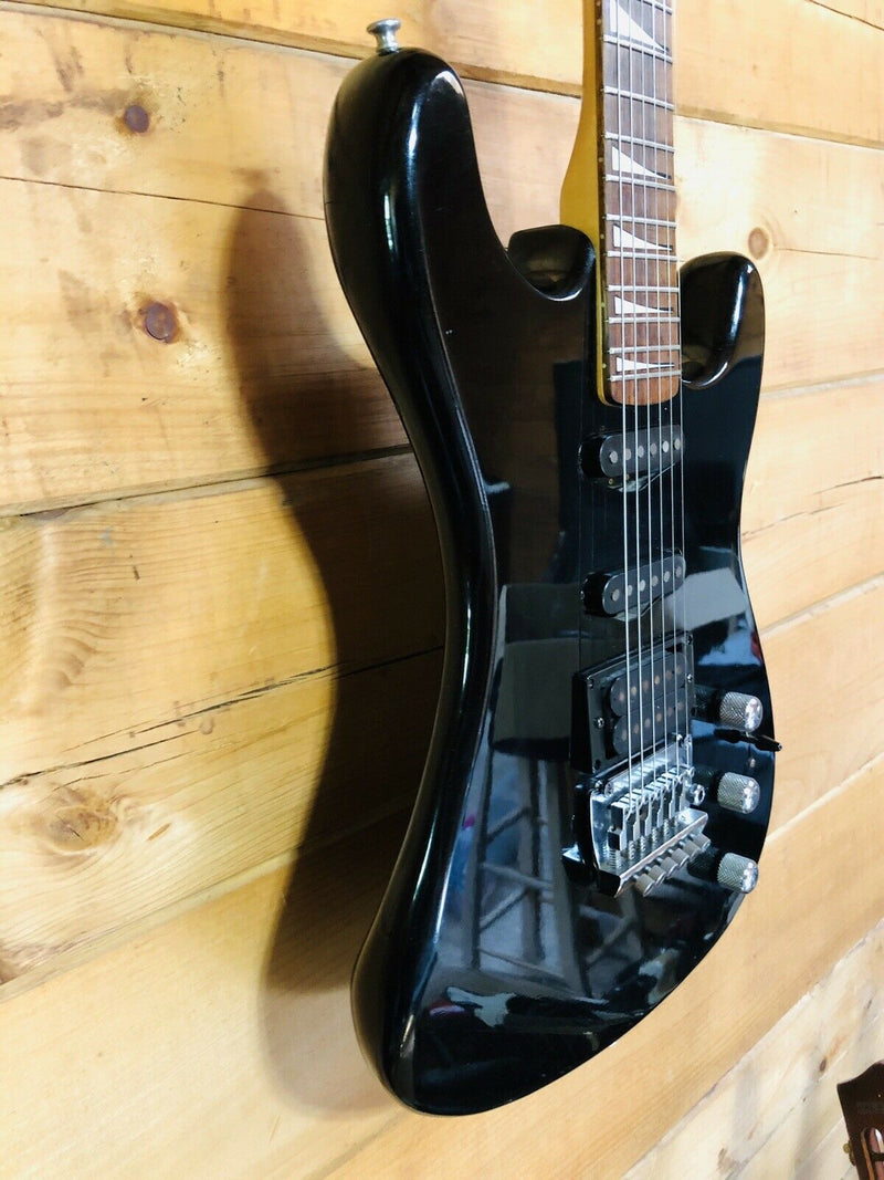 Epiphone By Gibson 1980's S Series Electric Guitar Black w/ New Setup & Gig Bag