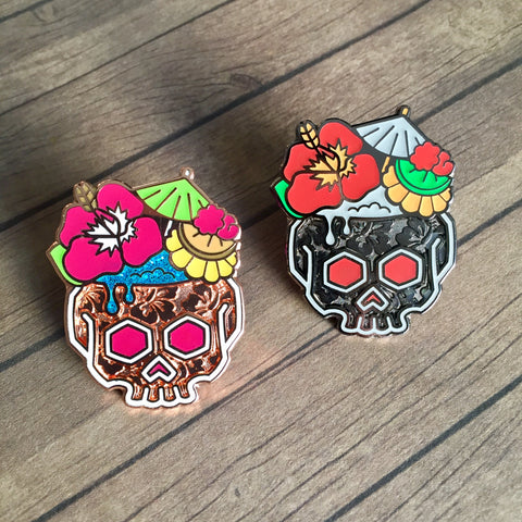 Noble Tiki pins