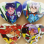 NGE KNIGHTS! HEART BUTTONS
