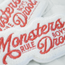 MONSTERS RULE, BOYS DROOL! PATCH
