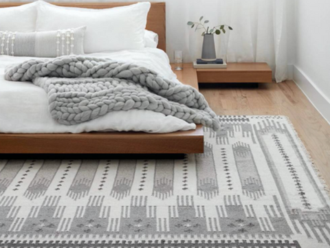 Area rug size for dining
