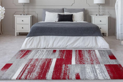 Area Rug in a Bedroom