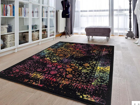 Luxe Weavers Beverly Collection Multi color Oriental Area Rug