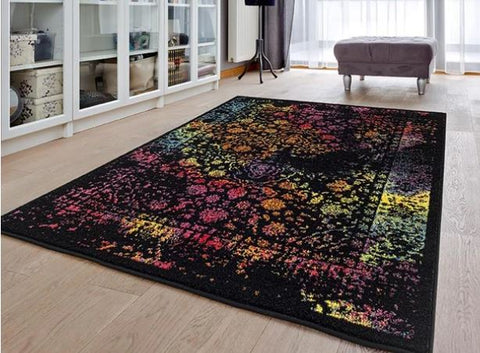Luxe Weavers Beverly Collection 6495 Multi Oriental Area Rug