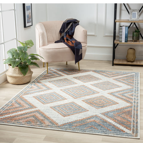the Luxe Weavers' Patricia Collection 100 Geometric rug