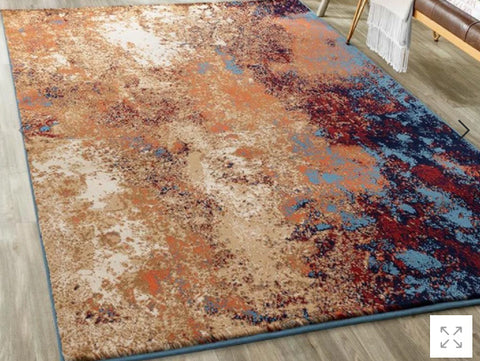 Luxe Weavers Howell Collection Polypropylene Area Rug
