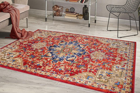 Luxe weavers howell collection polypropylene rug