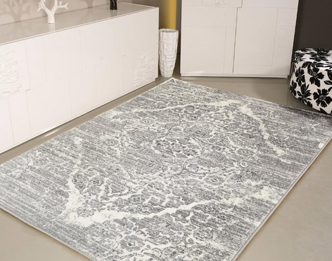 black and white oriental rug