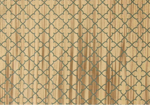 Moroccan collection area rug in ivory