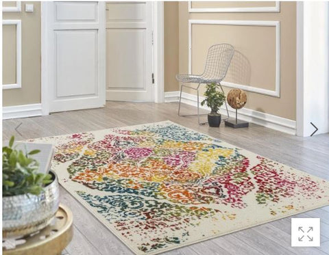 The Luxe Weavers Victoria Collection Area Rug (4620)