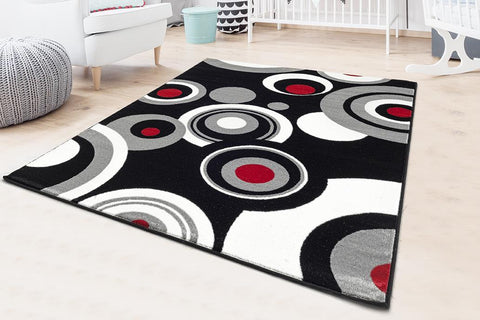 the Luxe weavers Victoria 3646 Geometric Rug Collection