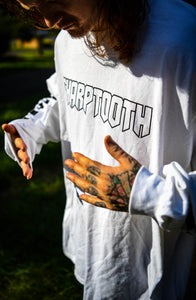 White Logo Long Sleeve