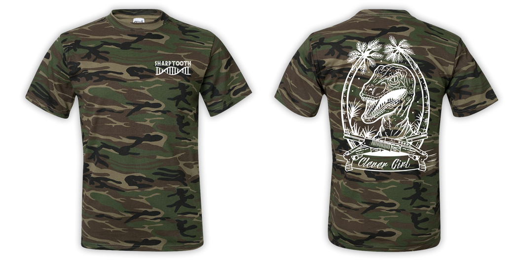 Clever Girl Camo Tee