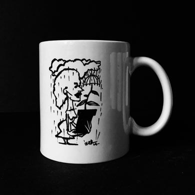 Mug #010 - Plant with umbrella