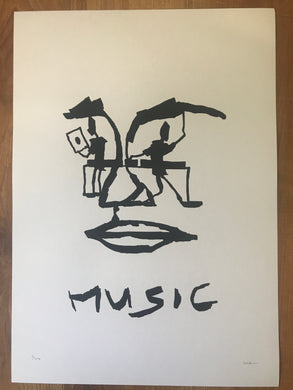 Music Limited Edition Print