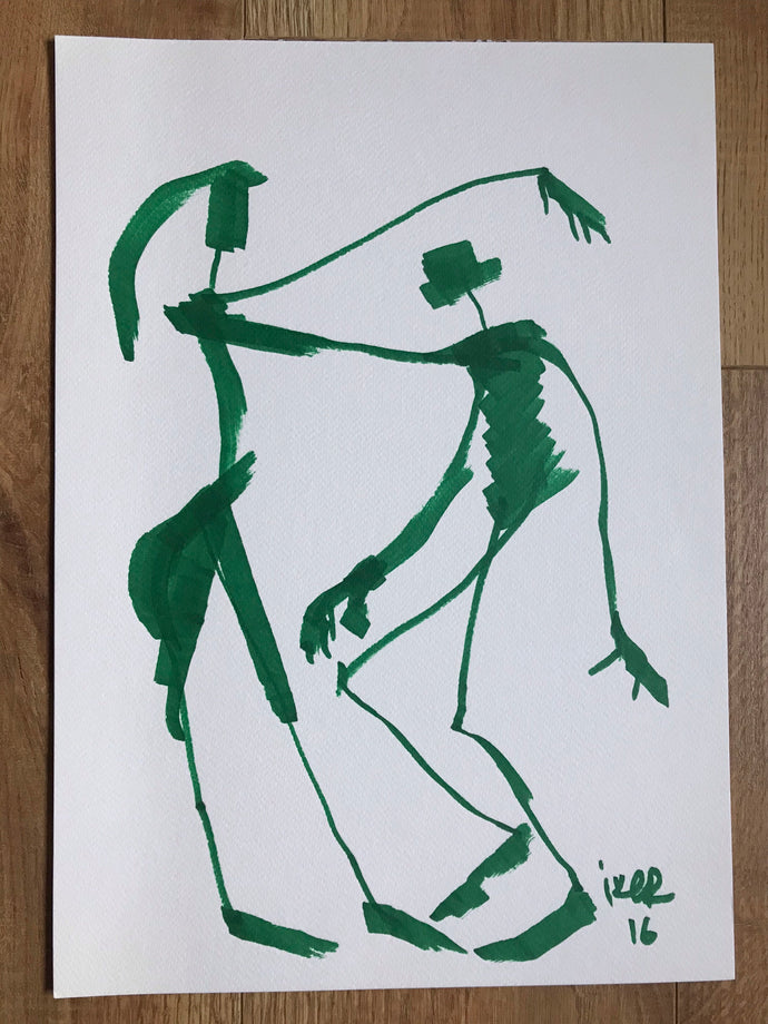 Dancers - Original drawing