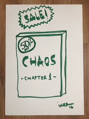Chaos Sale - Original drawing