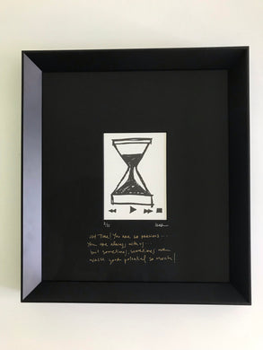 Oh time! - Framed Limited Edition Print