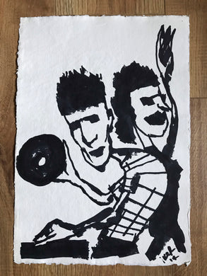 DJ - Original drawing