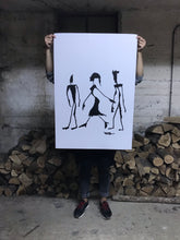 Girl walked pass - Limited Edition Print