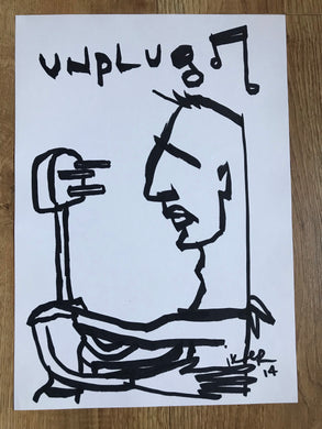 Unplug - Original drawing