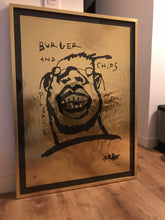 Burger and chips please mate / Super Gold - Limited Edition Print