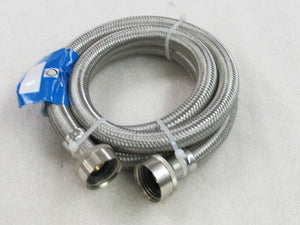 STAINLESS STEEL FILL HOSE 5' LONG
