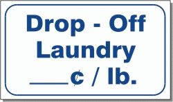 DROP-OFF LAUNDRY _____› / LB. 10x16