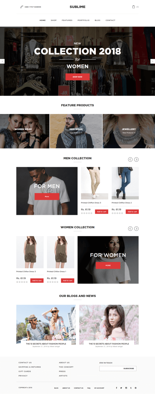 Sublime Shopify Theme
