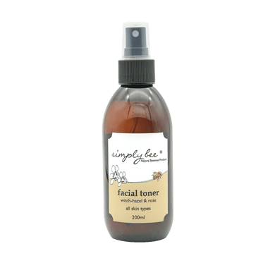 Simply Bee Witch Hazel and Rose Facial Toner 200ml