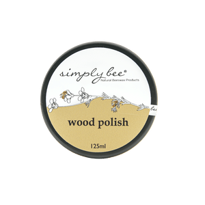 Simply Bee Wood Polish 125ml