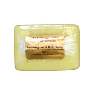 The Victorian Garden Lemongrass and Bran Soap 180g