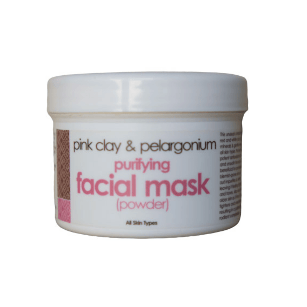 The Victorian Garden Pink Clay and Pelargonium Face Mask Powder 100g (All Skin Types)