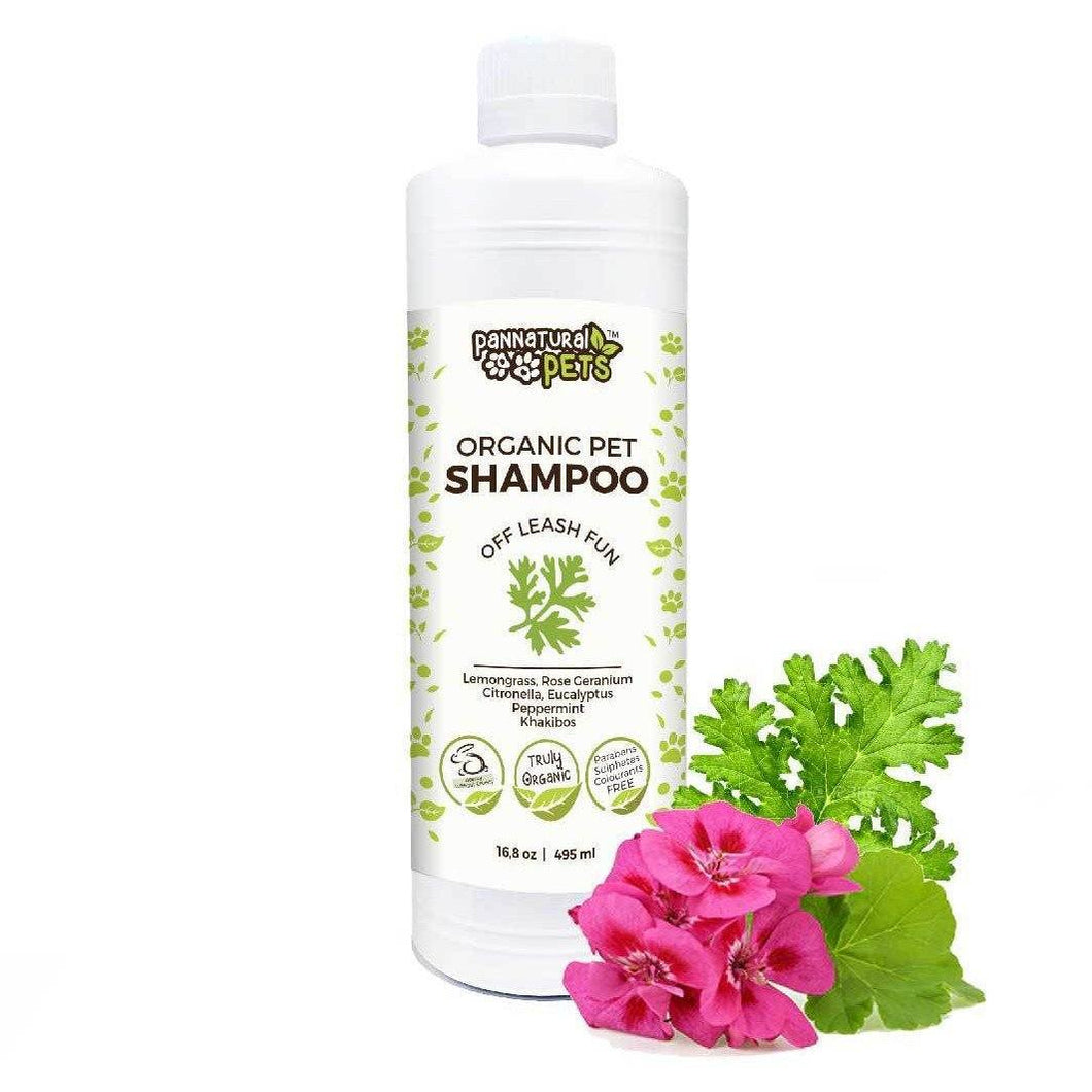Natura Pets Organic Pet Shampoo Off Leash Fun 495ml