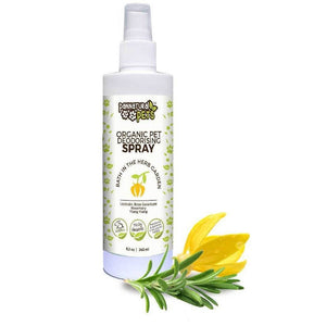 Natura Pets Organic Deodorising Spray Bath in the Herb Garden 245ml