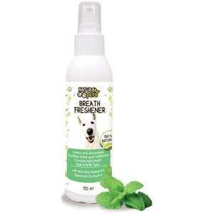 Natura Pets Herbal Spray Breath Freshener 150ml - Made by Nature