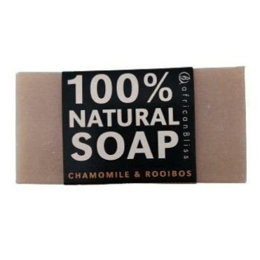African Bliss 100% Natural Soap Chamomile Rooibos 100g