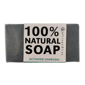 African Bliss 100% Natural Soap Activated Charcoal 100g
