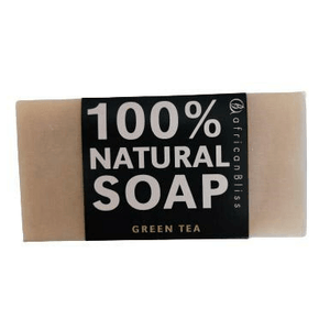 African Bliss 100% Natural Soap Green Tea 100g