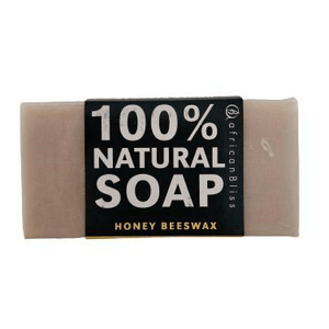 African Bliss 100% Natural Soap Honey Beeswax 100g
