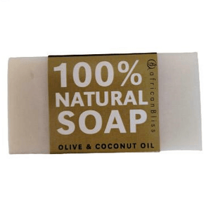 African Bliss 100% Natural Soap Olive and Coconut Oil 100g