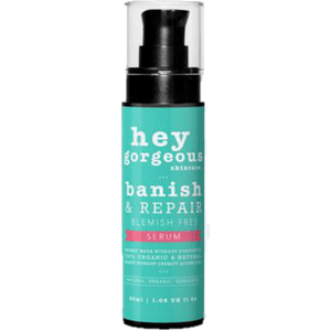 Hey Gorgeous Banish and Repair Serum for blemish free skin 30ml (Oily Skin)