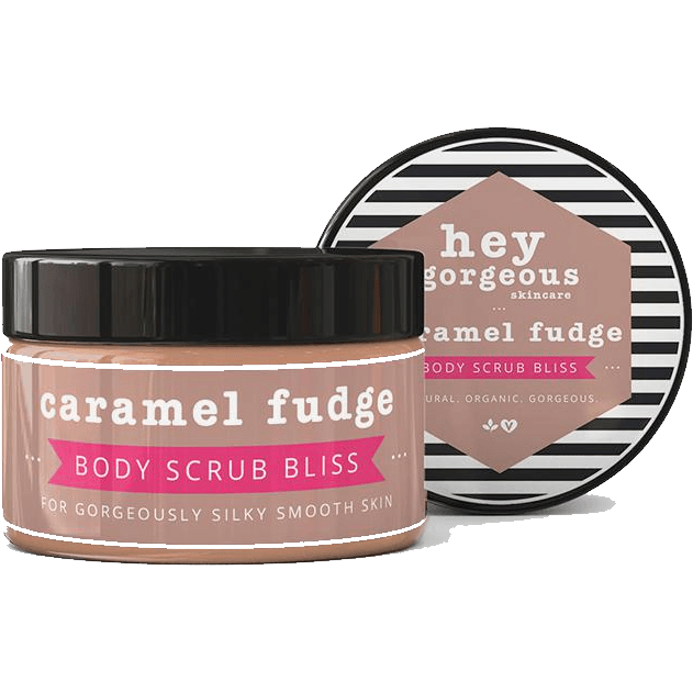 Hey Gorgeous Caramel Fudge Body Scrub 200g