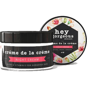 Hey Gorgeous Creme De La Creme Olive and Vitamin E Night Cream 100g (Dry or Mature Skin)