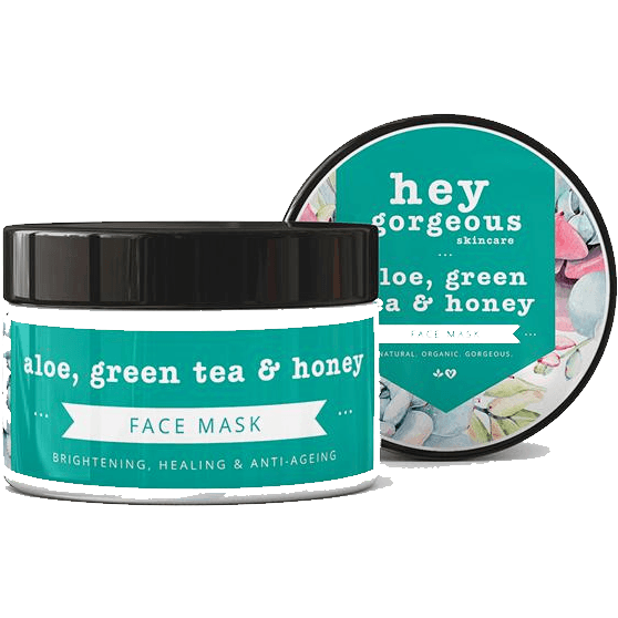 Hey gorgeous Green Tea and Honey Face Mask